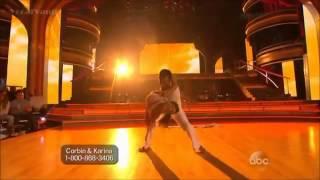 corbin bleu and karina smirnoff contemporary dancing with the stars season 17 week 1