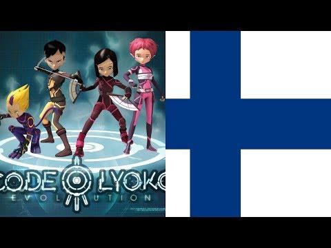 Code Lyoko Evolution Fanmade theme song Finnish HD