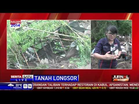 Longsor Kembali Melanda Kelurahan Tinoor Manado