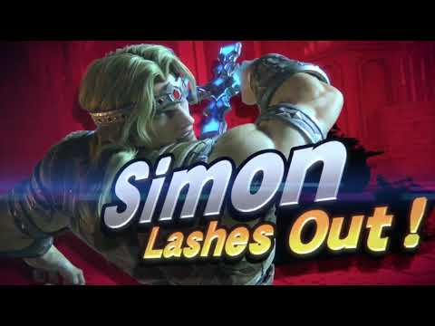 Simon Belmont AND Richter in Super Smash Bros. Ultimate - REVEAL TRAILERS