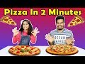 Pizza Making in 2 Minutes   Easy Pizza Recipe   इजी पिज़्ज़ा रेसिपी बाय परी