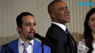 """Hamilton"" White House Performance Caused Tears"