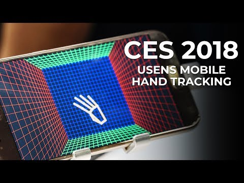 CES 2018 - Usens Inc Hand Gesture at the Consumer Electronics Show