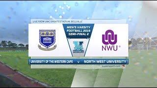 Varsity Football | UWC v NWU | Highlights