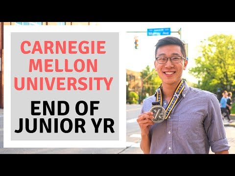 End of Junior Year at Carnegie Mellon University