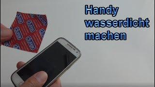 Handy wasserdicht machen – DIY Smartphone Life Hacks für den Sommer