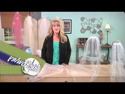It's Sew Easy - How to make Bridal Veils