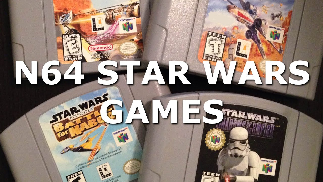 N64 Star Wars Games   YouTube N64 Star Wars Games