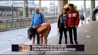 Morenaça Mostra Demais Em Seu Dia De Sorte E Rapaziada Cresce O Olho