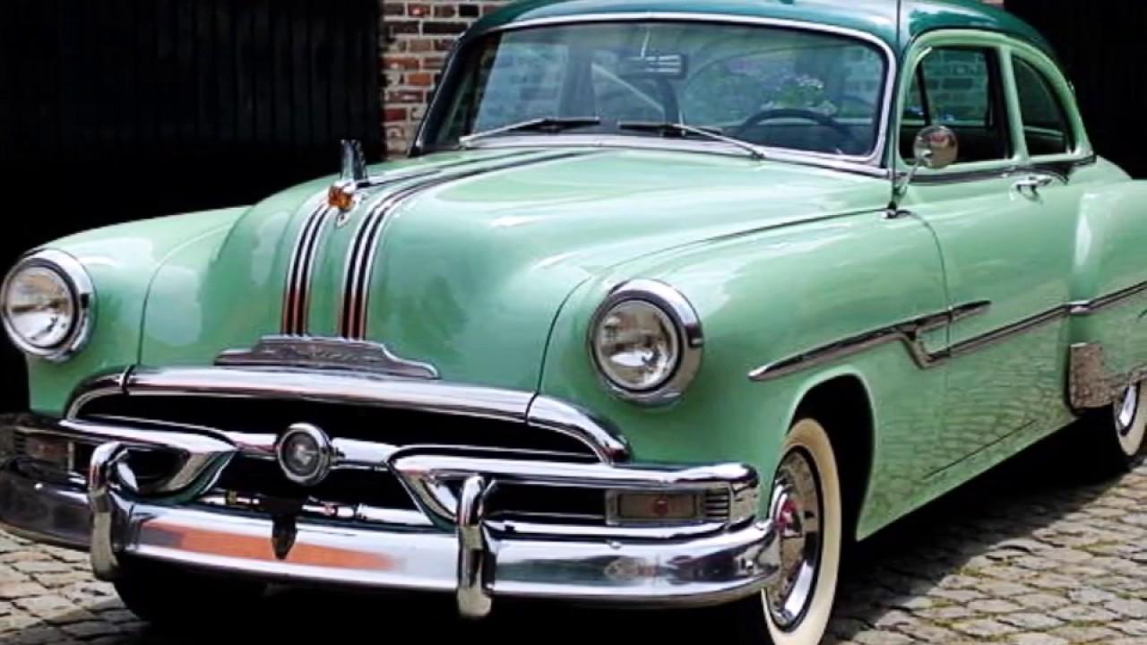 Pontiac Chieftain Two Door Model Year 1953 Youtube Star Chief