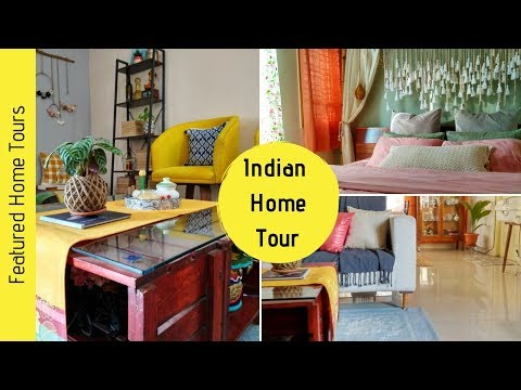 Indian Home Tour 2019 | Rental Home Decor | Home Decor DIYs