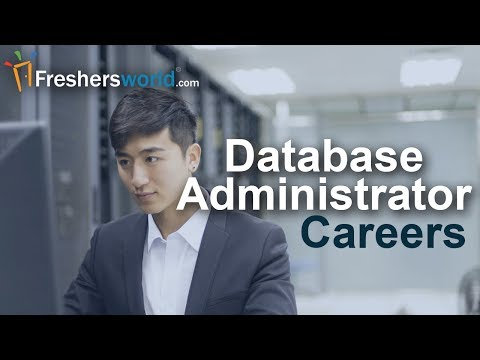 How to start a Database Administrator Career in India ? - Skills required, Job opportunities