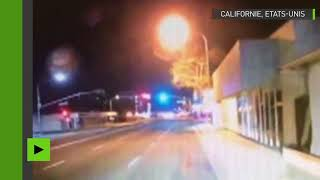 Sous l'emprise de drogues, il fait décoller sa voiture, vole et s'encastre dans un bâtiment