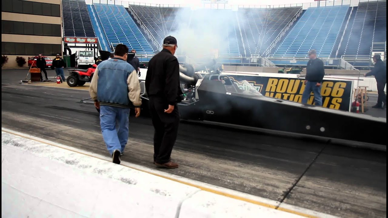 TRIPLE TURBO DIESEL DRAGSTER~ INTERNATIONAL DT466 540C I  3000HP @ RT66  FIRST RUN