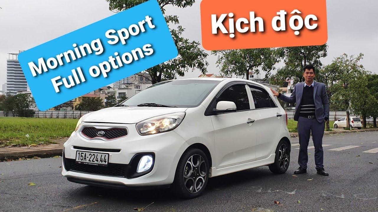 (Đã bán) Kia Morning Sport 1.0L A/T 2012 | Full Options với cân bằng điện tử | Đẹp long lanh