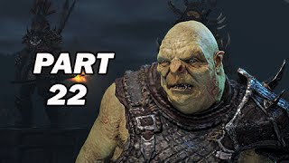 Middle Earth Shadow of Mordor Walkthrough Part 22 - Tower Defence (PC 1080p Gameplay)