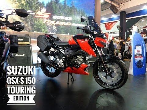 Suzuki Perkenalkan GSX-S 150 untuk Biker Hobi Jalan-jalan