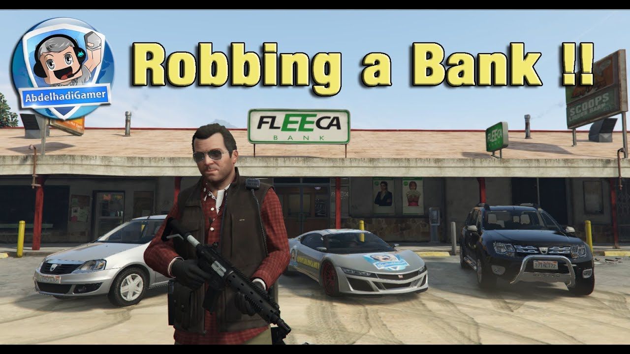 GTA V Maroc Fun (PC) سرقت أكبر بنك في الريف واكتشاف سيارات جديدة