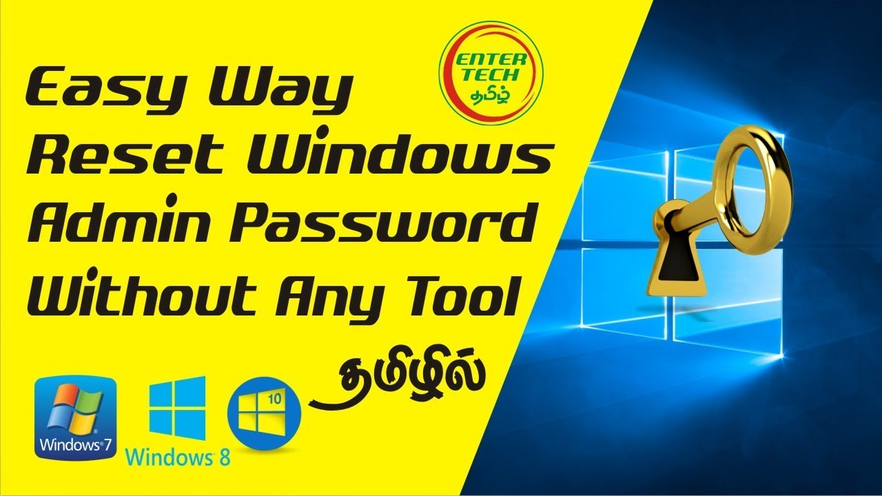 bootable password reset windows 8