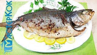 Тунец запеченный на решетке | Тунець запечений на решітці | Tuna baked on the grill