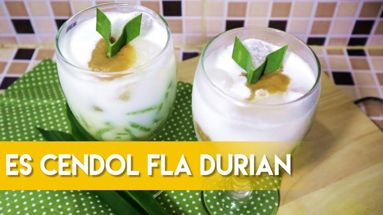 Resep Es Cendol Fla Durian Ramadhan Cetakan Dawet