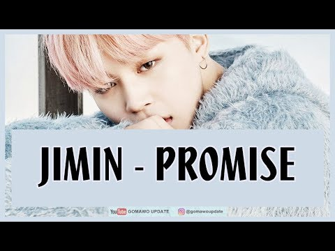 Easy Lyric JIMIN 'BTS' - PROMISE by GOMAWO [Indo Sub] Mp3