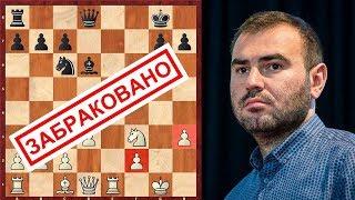 Шахматы. ЗАБРАКОВАННЫЙ ВАРИАНТ в партии современной шахматной ЭЛИТЫ!