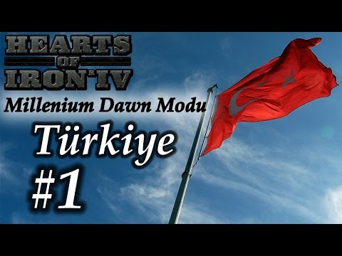 [Hearts of Iron 4] Millenium Dawn - Türkiye (Strateji Delisi Versiyonu) - B1