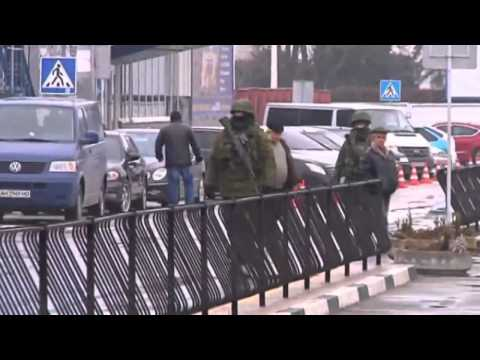 Ukraine crisis  'Russian forces' seize airports in Crimea region