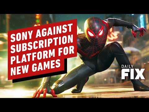 Why Gamers Won't Get New Sony 1st-Party Games On A Subscription Service - IGN Daily Fix