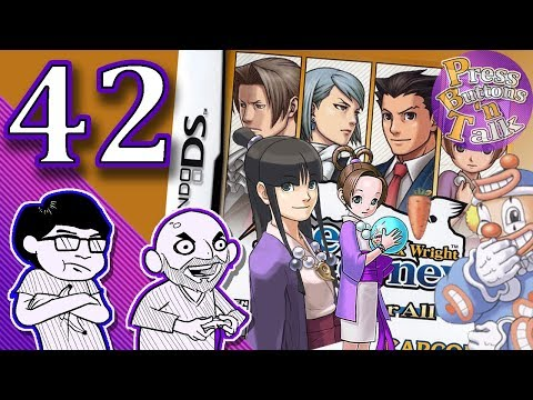 Phoenix Wright: Justice for All, Ep. 42: No Jokes - Press Buttons 'n Talk
