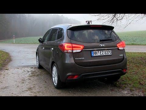 2015 Kia Carens 1.7 CRDi (115 HP) Test Drive