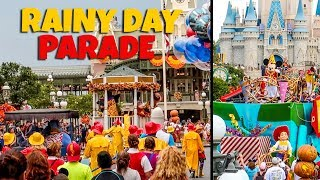 Rare Move it Shake it Rainy Day Parade at Magic Kingdom