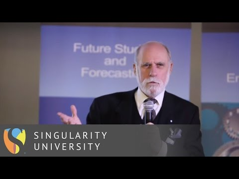 Vint Cerf and The Internet Today | Singularity University