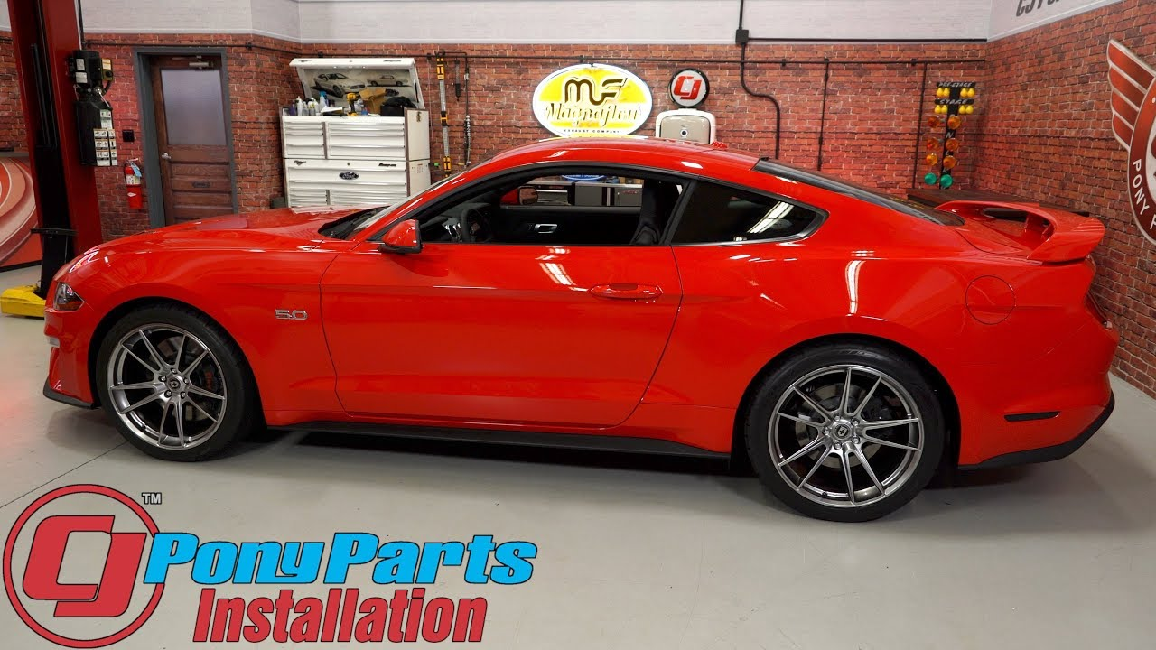 2017 2019 Mustang Gt Ecoboost V6 Hre Ff04 Wheels 20 X10 X11 Liquid Metal Installation