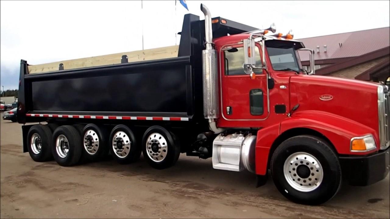 Peterbilt Quint Axle Dump Truck For Sale By CarCo