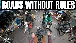 SCARIEST STREETS TO RIDE MOTORBIKE! Southeast Asia Vlog no. 1