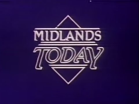 BBC1 Midlands Today titles - 1984