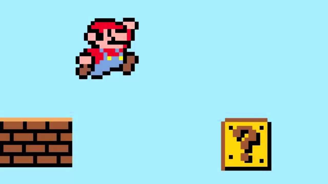 Amazoncom Retro 8Bit Mario Jumping Decal from Super