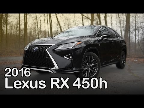 2016 Lexus RX 450h Review: Curbed with Craig Cole