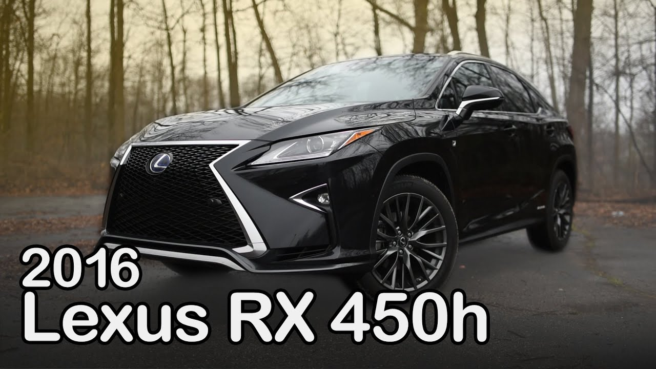 2016 Lexus RX 450h Review Curbed with Craig Cole