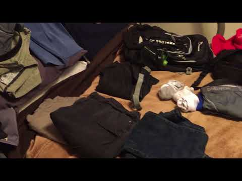 Small backpack packing tips