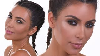 KIM KARDASHIAN WEST DAY TO NIGHT MAKEUP TUTORIAL | PatrickStarrr