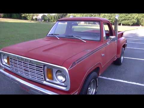 1978 Dodge D100 - New Interior!