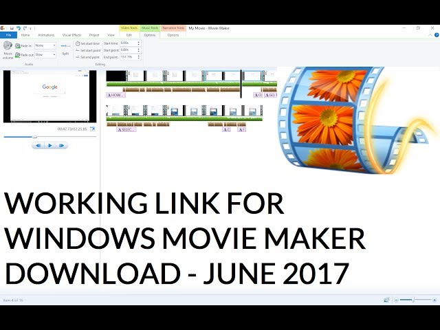 windows movie maker 16.4 offline installer