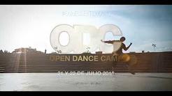 Open Dance Camp 21 y 22 de julio Casa de la Cultura de Manabí