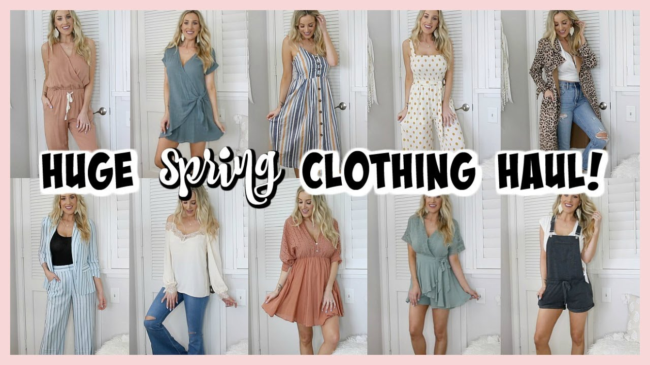 1301128395f5 HUGE SPRING HAUL & TRY ON! VICI, TJ MAXX, TARGET SHOES, MORE! | OLIVIA ZAPO