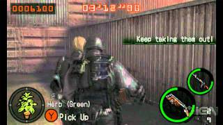 Resident Evil: The Mercenaries 3D - Wesker & Hunk Gameplay