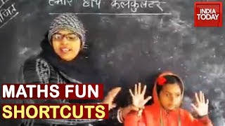 Making Maths Fun, Teacher Shows New Hack In Video | Only In India