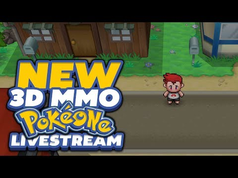 NEW POKEMON 3D MMORPG WITH CO-OP!? - (PokeOne MMORPG ... Ruffledrowlit